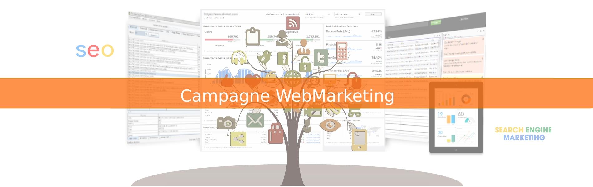 Realizziamo Siti Web, Campagne Web Marketing, SEO e SEM